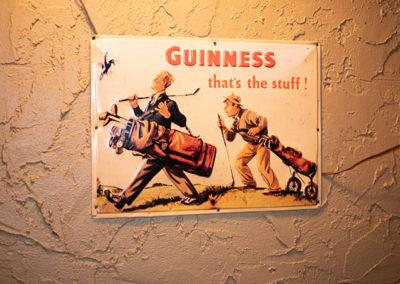 Old Pequliar Guinness Sign